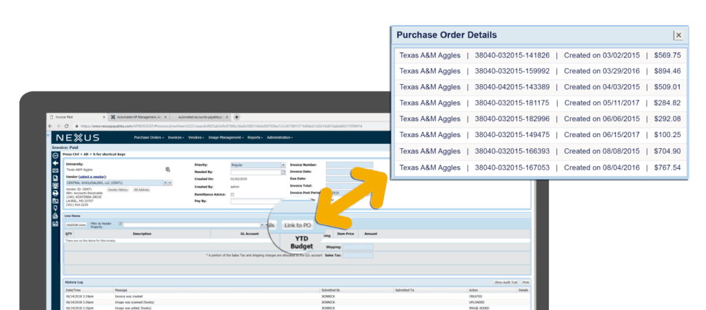 Once your supplier has approved a PO, automatically transfer that data onto an invoice and avoid additional data entry.