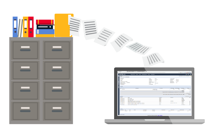 Electronic invoice processing