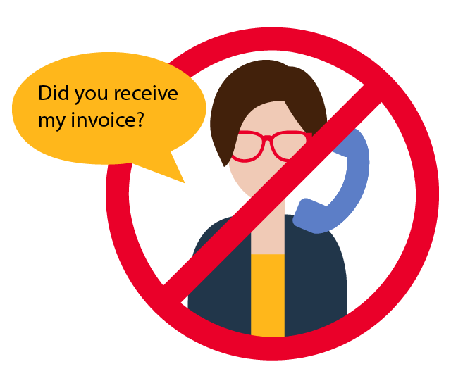 When suppliers can self-service using NexusConnect, they won't need to rely on your team for answers.