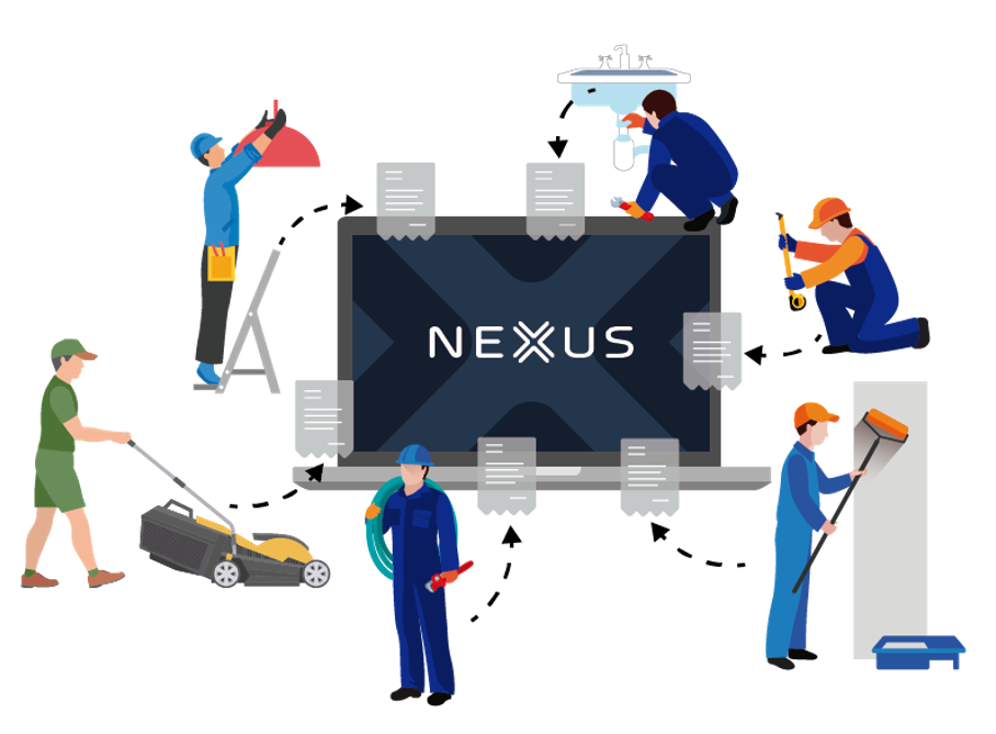 Buyers and suppliers can communicate and transact with each other using Nexus AP automation softawre