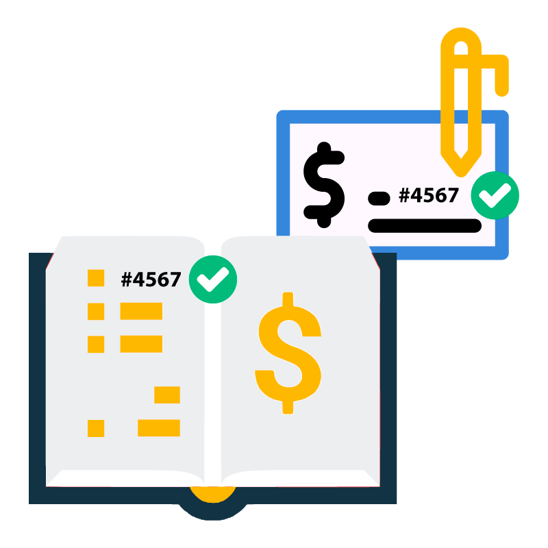 When selecting an automated payments solution, make sure checks have the same numbers.