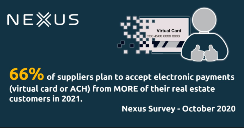 Suppliers are upping their acceptance of electronic payments
